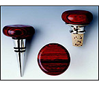 Rosewood Flat-top Cone Stopper
