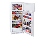Summit CP133 White 9.5 cf Cycle Defrost Refrigerator-Freezer