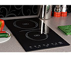 Summit SINC2220 - Ceramic Glass Induction Cooktops - 2-Zone