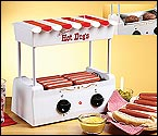 Nostalgia Electrics HDR-565 Old Fashioned Hot Dog Roller & Griddle