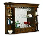 Howard Miller 693-007 Niagara Hutch Back Bar