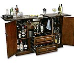 Howard Miller 695-080 Bar Devino Hide-A-Bar Console
