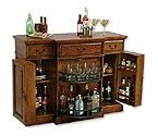 Howard Miller 695-084 Shiraz Hide-A-Bar Wine Console