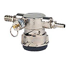Perlick Lo-Boy Low Profile D System Keg Tap Coupler w/ Pressure Relief