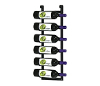 VintageView LR1 Le Rustique Decorative Wine Rack, Black Finish