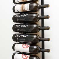9 Magnum / Champagne Bottle Wine Rack - Platinum Series Finish