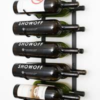 18 Magnum / Champagne Bottle Wine Rack - Chrome Finish