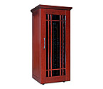 Le Cache Mission 1400 172-Bottle Wine Cellar - Classic Cherry Finish