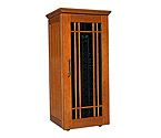 Le Cache Mission 1400 172-Bottle Wine Cellar - Provincial Cherry Finish
