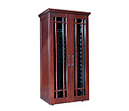 Le Cache Mission 2400 286 -Bottle Wine Cabinet - Classic Cherry Finish