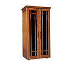Le Cache Mission 2400 286 -Bottle Wine Cabinet - Provincial Cherry Finish