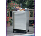 Marvel 60HK-SSX-F All Stainless Steel Outdoor Kegerator - SSX Kit Deluxe Model