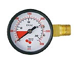 6603 - High Pressure Replacement Gauge - Left Hand Thread