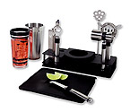 Oggi 7150 10 pc. Professional Bar Tool Set w/ Stand and Cutting Board