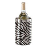 Oggi 7400 Stainless Steel Zebra Double Wall Wine Cooler