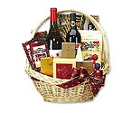 Premium Wine & Gourmet Gift Basket