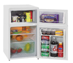 Avanti RA303WT-1 3.1 Cu. Ft. Counterhigh Two Door Cycle Defrost w/ Reversible Doors - White