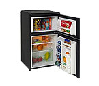 Avanti RA304BT 3.1 Cu. Ft. Counterhigh Two Door Cycle Defrost w/ Reversible Doors - Black