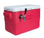 CB281R - Single Faucet Jockey Box - 28 Quarts, 50-ft. Stainless Steel Coil
