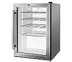 Summit SWC1530 28-Bottle Built-in Wine Cooler Refrigerator with Stainless Steel Door Trim