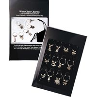 Land & Sea Wine Glass Charms Collection Set of 12