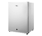 Summit FF28LWH 2.4 c.f. Compact All Refrigerator w/ Lock - White