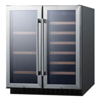 Summit SCR312LWC2 Wine Cooler
