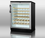Summit SWC6GBL 51-Bottle Wine Refrigerator - Black