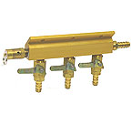 1743S - Aluminum Three-Way Air Distributor with Safety