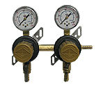 T1672ST Two Product Secondary Co2 Kegerator Regulator by Taprite