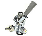CH5000SS - D System Keg Coupler Grey Handle with Stainless Steel Probe