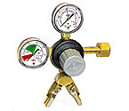 Taprite T742-2 - Commercial 2-Product Dual Gauge Primary Kegerator Regulator
