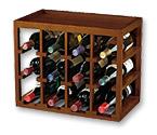 Cube Stack Wine Rack for 12 Bottles