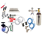 Kegco Ultimate Door Mount Kegerator 2 Keg Tap Conversion Kit - Ball Lock