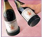 Vacu Vin Black Wine Bottle Coaster