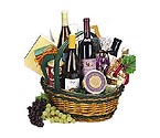The Vintner Wine Gift Basket