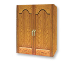Vinotemp 230FT Furniture Wood Wine Cabinet for 160 Bottles