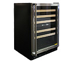 Vinotemp VT-45 45-Bottle Dual Zone Wine Cooler Refrigerator