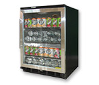 Vinotemp BC-58SB Beverage Cooler with Stainless Steel Glass Door