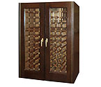 Vinotemp 230G Wine Cellar - Two Glass Doors - 160 Bottle Count