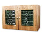 Vinotemp Credenza 296B Wine Cellar w/ Beveled Glass Door - 224 Bottle Count