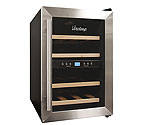 Vinotemp VT-12TEDS2Z 12-Bottle Thermoelectric Dual Zone Wine Cooler