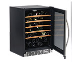 Avanti WC55SSR 52-Bottle Built-In Wine Refrigerator