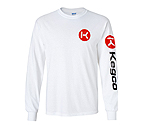 Kegco Long Sleeve T-Shirt - White 2XL