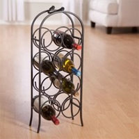 Metal Wine Arch Bottle Rack