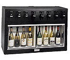 WineKeeper 4X4-L2RM - Monterey 8 Bottle Wine Dispenser Preservation Unit - Laminate