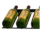 Vintage View WS-PR-P - 9 Bottle VintageView Presentation Wine Rack - Platinum Series Finish