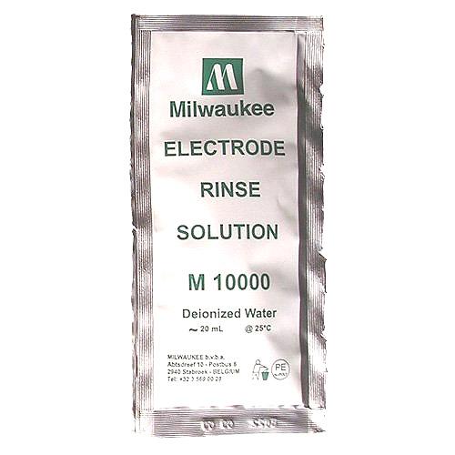 Milwaukee M10000B Rinse Solution - Deionized Water - 20 mL