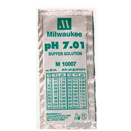 Milwaukee M10007B pH 7.01 Calibration Buffer Solution - 20 mL