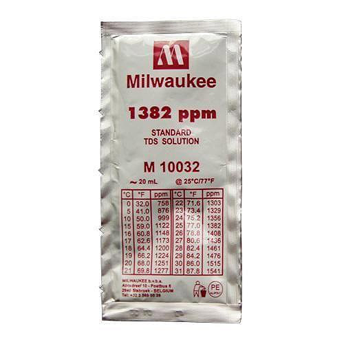 Milwaukee M10032B 1382 ppm TDS Calibration Solution - 20 mL